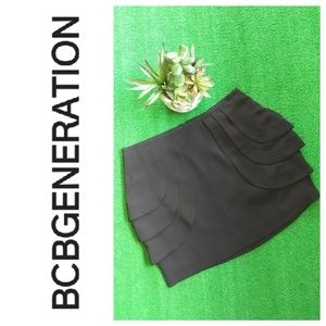BCBGENERATION tulip mini skirt